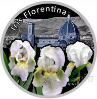 Niue 2012 Set 3 Coins X 28.28g Silver Iris Series - Iris Barbata , Florentina , Siberica - Niue