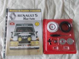 Altaya Renault 5 Maxi Turbo Montez La Légende Francaise Numéro 2 - Model Making