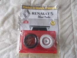 Altaya Renault 5 Maxi Turbo Montez La Légende Francaise Numéro 11 - Unclassified
