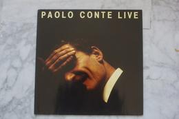 PAOLO CONTE LIVE LP     DE.1989 - Vinyl Records