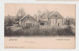 Cpa Blanmont  Brasserie  1903 - Chastre