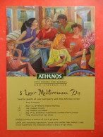 ATHENOS - Recette Cuisine - 5 Layer Mediterranean Dip - - Advertising