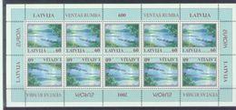 LV 2001-544 EUROPA CEPT, LATVIA, MS, MNH - Europa-CEPT