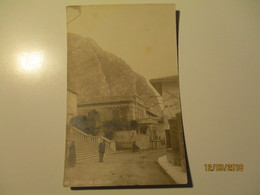 GEMONA, STREET VIEW , MAN WITH BICYCLE , OLD  POSTCARD  ,0 - Udine