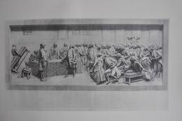 GRAVURE 969 / LES ETATS GENERAUX Par ALPHONSE LAMOTTE Né à LE HAVRE En 1844 - Estampes & Gravures