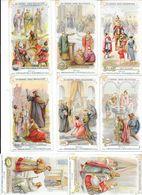 Les Grandes Dates Religieuses - Collection De 17 Chromos Différents   - Ed. De La Chocolaterie D'Aiguebelle -   -  L 1 - Histoire