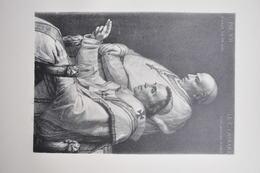 GRAVURE 970 / PIE VII ET LA CARDINAL CAPRARA D'après DAVID Par JEAN BAPTISTE DANGUIN Né à FRONTENAS - Religion & Esotericism