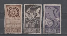 Pologne  Timbres - Vignettes  Du 2° Corps Polonais En Italie = 3 Valeurs Neuves  X  X - 1939-44: World War Two