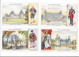 Les Grands Châteaux D'Europe (leurs Batisseurs)  - Collection De 17 Cartes - Ed. De La Chocolaterie D'Aiguebelle  -  L 1 - Histoire
