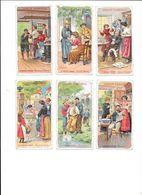MEDECINE PRATIQUE  - Collection De 11 Chromo - Ed. De La Chocolaterie D'Aiguebelle  -  L 1 - Aiguebelle