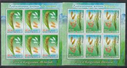 Kirgistan 2017 MNH** Mi. Nr 914-915 KB A Rice - Kirgisistan