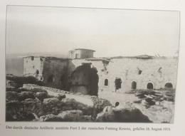 Photos Allemandes Recto Verso -387 Fort Russe Kowno 18/8/15 - Canon Russe 240 Kowno Envoyé Dardanelles - Optics