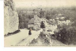 Cpa Vallée De La Loue Route D Mouthiers à Pontarlier - Pontarlier