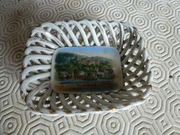 Petite Coupelle En Porcelaine Ajourée Souvenir De Heidelberg V.D. Hirschgasse - Obj. 'Remember Of'
