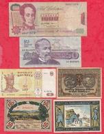 Pays Du Monde 10 Billets état Voir Scan  Lot N °438 (3) - Coins & Banknotes