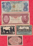 Pays Du Monde 10 Billets état Voir Scan  Lot N °439 (3) - Coins & Banknotes