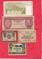 Pays Du Monde 10 Billets état Voir Scan  Lot N °440 (3) - Coins & Banknotes