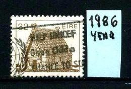 EIRE - IRLANDA - Year  1986 - Usato -used - Utilisè - Gebraucht. - 1949-... Repubblica D'Irlanda