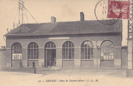 (37)   DENAIN - Gare De Denain-Mines - Denain