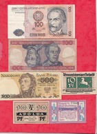 Pays Du Monde 10 Billets état Voir Scan  Lot N °442 (3) - Coins & Banknotes