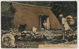 Honolulu Hawaiian Grass House Aloha Nui  No 23/C To Cienfuegos Cuba - Hilo