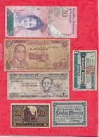 Pays Du Monde 10 Billets état Voir Scan  Lot N °443 (3) - Coins & Banknotes