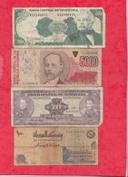 Pays Du Monde 16 Billets état Voir Scan  Lot N °444 (3) - Coins & Banknotes