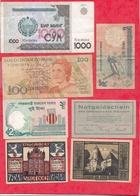 Pays Du Monde 16 Billets état Voir Scan  Lot N °445 (3) - Coins & Banknotes