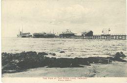TRINIDAD - The Pier At The Pitch Lake    (103404) - Trinidad