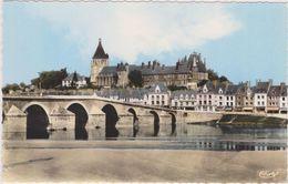 GIEN,loiret,vue Sur La Ville,le Pont,l'église,chateau,ves Tige Gallo Romain,trace Préhistorique,édition Combier,rare - Gien