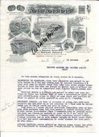 Autriche - VIENNE - Facture ABADIE - Manufacture De Papiers - 1912 - REF 269A - Autriche