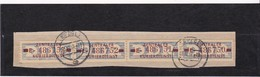 """DDR, Dienst: ZKD 4x Nr.20 """"E"""", Original, Gest..auf Briefstück Mi. 40,- Euro (K 1735) - Service"""