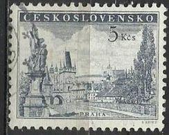 Cecoslovacchia Lotto N. 1703 Del 1960 Yvert N.1076A Usato - Tschechoslowakei/CSSR
