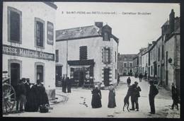 """44  St PERE En RETZ  Carrefour St JULIEN  """"AGUESSE Maréchal Ferrant""""  Paimboeuf Brévin Pornic Chauvé - Sonstige Gemeinden"""