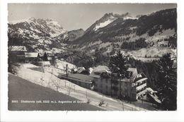 19523 - Diablerets Argentine Et Gryon En Hiver - VD Vaud