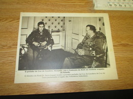 Old Photo WWII Seconde Guerre Mondiale Germany German Officer Netherlands Holland - 1939-45