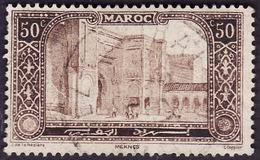 MAROC   1917  -  YT  75  -  Porte Bab-el-Mansour - Oblitéré - Cote3e - Maroc (1891-1956)