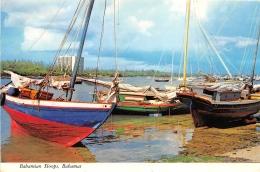 BAHAMIAN STOOPS      CACHET TIMBRE - Bahamas