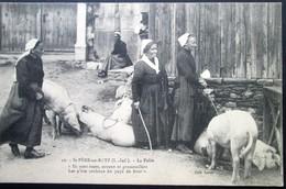 44  St PERE En RETZ     La FOIRE   1914  Paimboeuf Brévin Pornic Chauvé - Sonstige Gemeinden