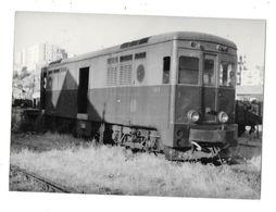 BASTIA (20) Photographie Chemin De Fer  CFC Locomotive 1971 - Bastia
