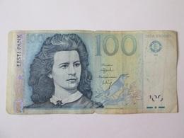 Estonia 100 Krooni 1999 Banknote - Estonia