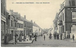 SOLRE-LE-CHATEAU    RUE DE JEUMONT - Solre Le Chateau