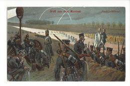 19530 - Militaria Gruss Aus Dem Manöver Nachtfelddienst - Weltkrieg 1914-18
