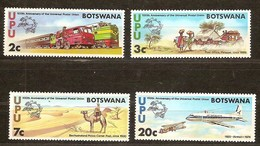 Botswana 1974 Yvertnr. 262-265 *** MNH UPU Universal Postal Union Cote 8 Euro - Botswana (1966-...)