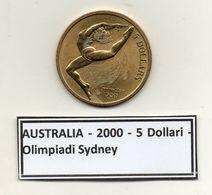 Australia - 2000 - 5 Dollari - Olimpiadi Sydney - Vedi Foto - (MW158) - Australia