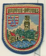 Stoffen Schild - Blazoen - écusson Tissu Brugge - Ecussons Tissu