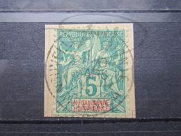 """VEND BEAU TIMBRE DE NOUVELLE-CALEDONIE N° 44 , OBLITERATION """" NOUMEA """" !!! - Usados"""