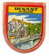 Stoffen Schild - Blazoen - écusson Tissu Dinant La Citadelle - Ecussons Tissu