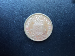 ANTILLES NÉERLANDAISES : 1 CENT  1976  KM 8   SUP - Antilles Neérlandaises