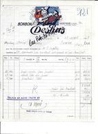 74 - Haute-savoie - ANNEMASSE - Facture DESHUS - Bonbons - Confiserie - 1938 - REF 269C - 1900 – 1949